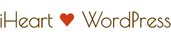 I Heart Word Press Logo